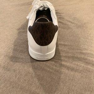 Michael Kors mens leather tennis shoes